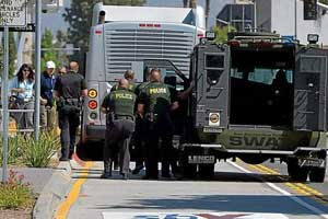Police, fire, Omnitrans conduct hostage situation training on downtown San Bernardino city streets